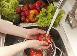 lavado de hortalizas