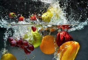 lavado frutas