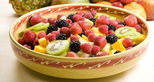 ensaladas frutales